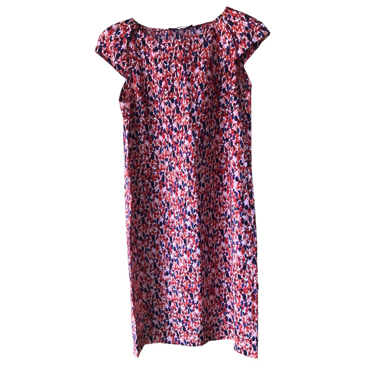 Carolina Herrera - Robe   pour femme en soie - rouge