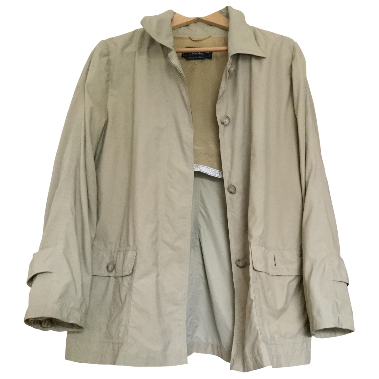 Max Mara Weekend \N Ecru jacket for Women 44 IT