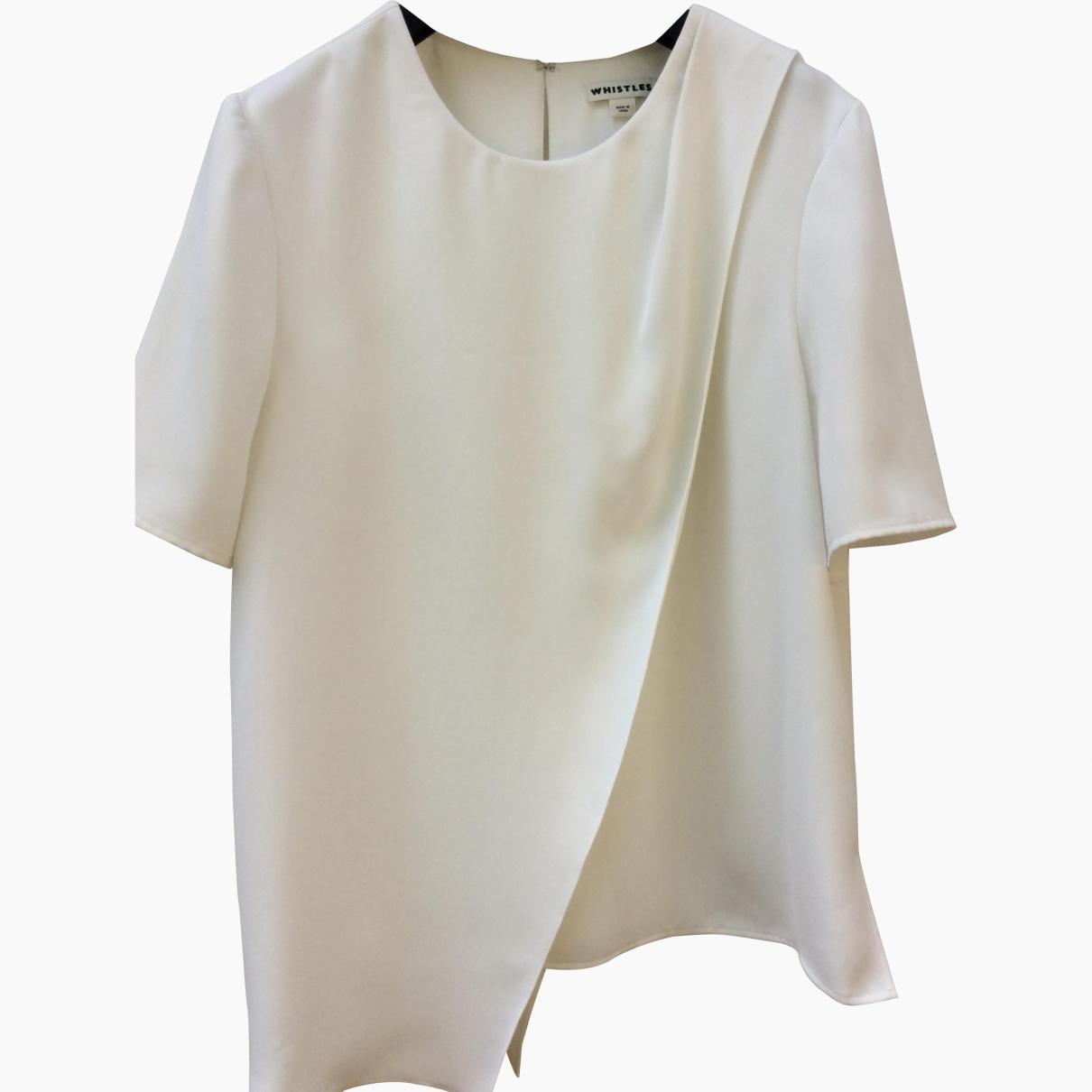 Whistles \N White  top for Women 14 UK
