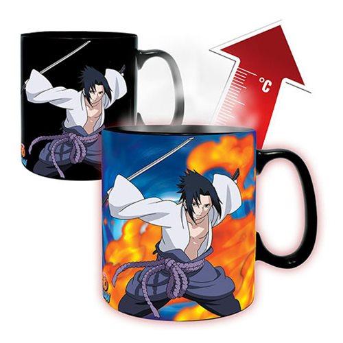 Naruto Shippuden Naruto vs Sasuke Magic Mug and Coaster Gift Set