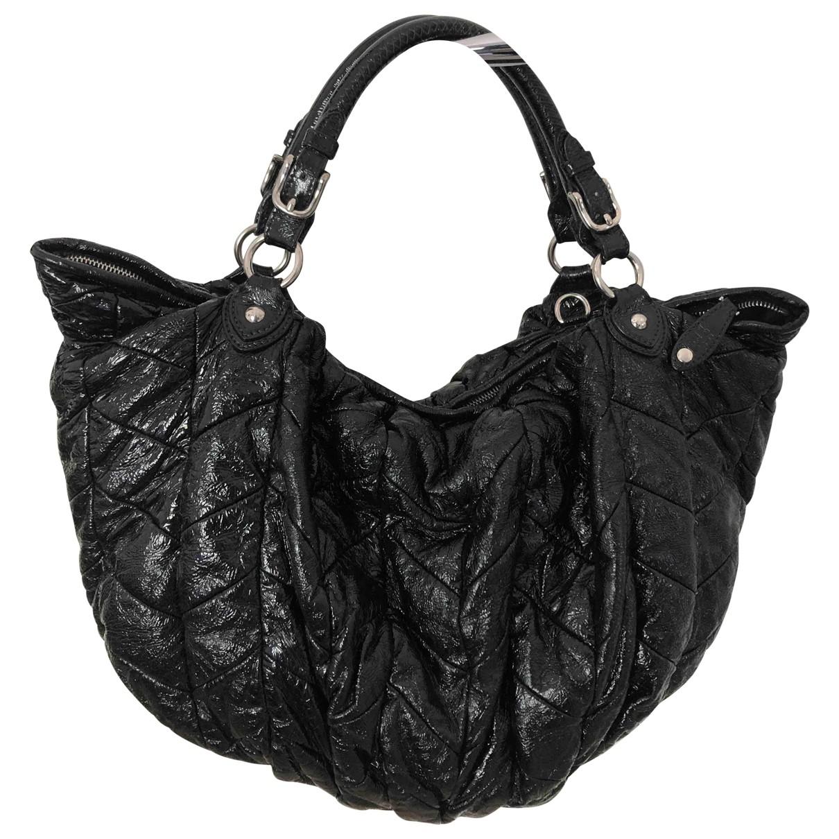 Miu Miu \N Black Patent leather handbag for Women \N