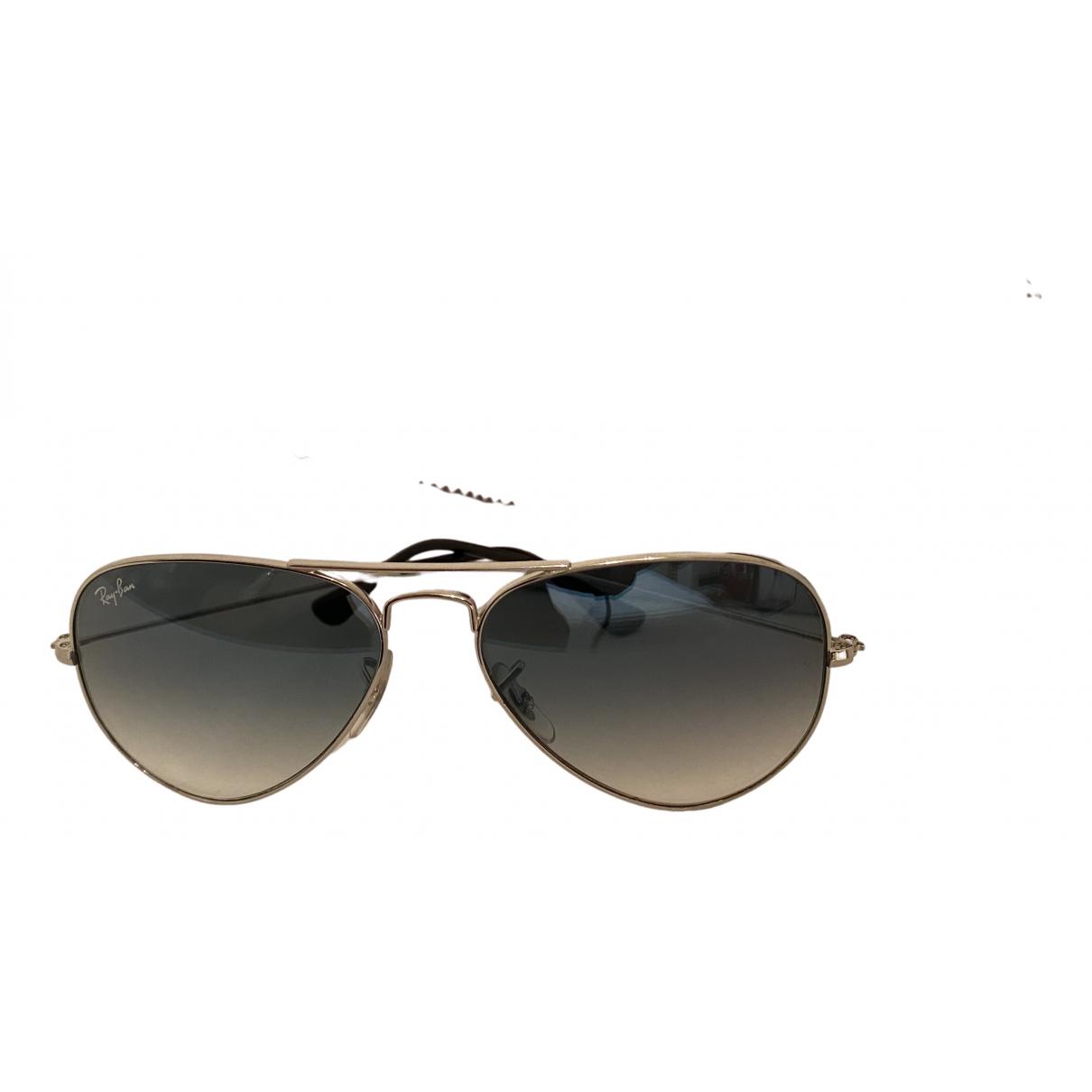 Ray-ban Aviator Multicolour Metal Sunglasses for Women N