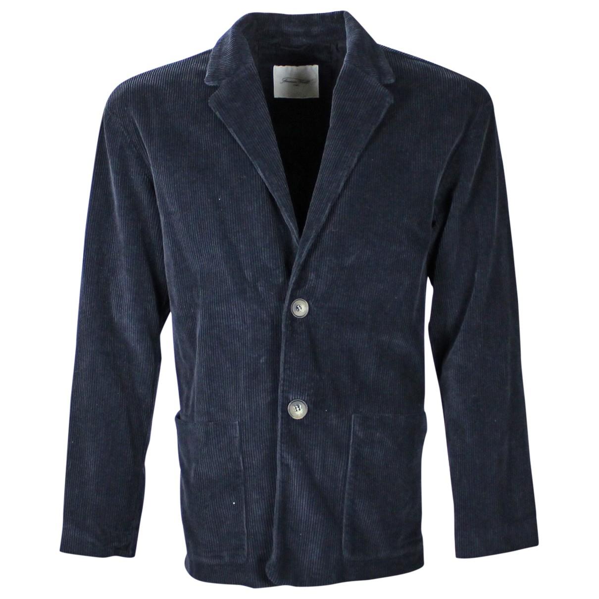 American Vintage \N Navy Cotton jacket  for Men M International