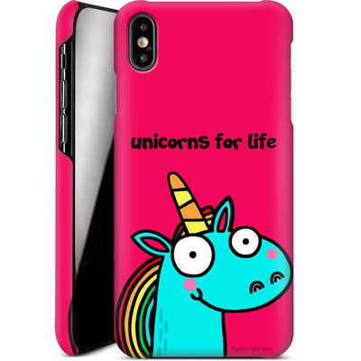 Apple iPhone XS Max Smartphone Huelle - Unicorns for Life von Flossy and Jim