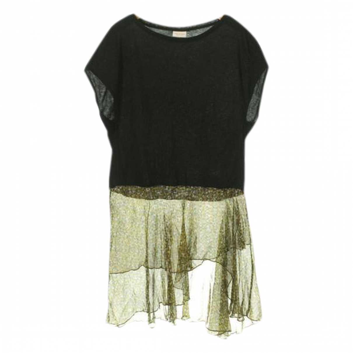 Dries Van Noten \N Black Cotton dress for Women XS International