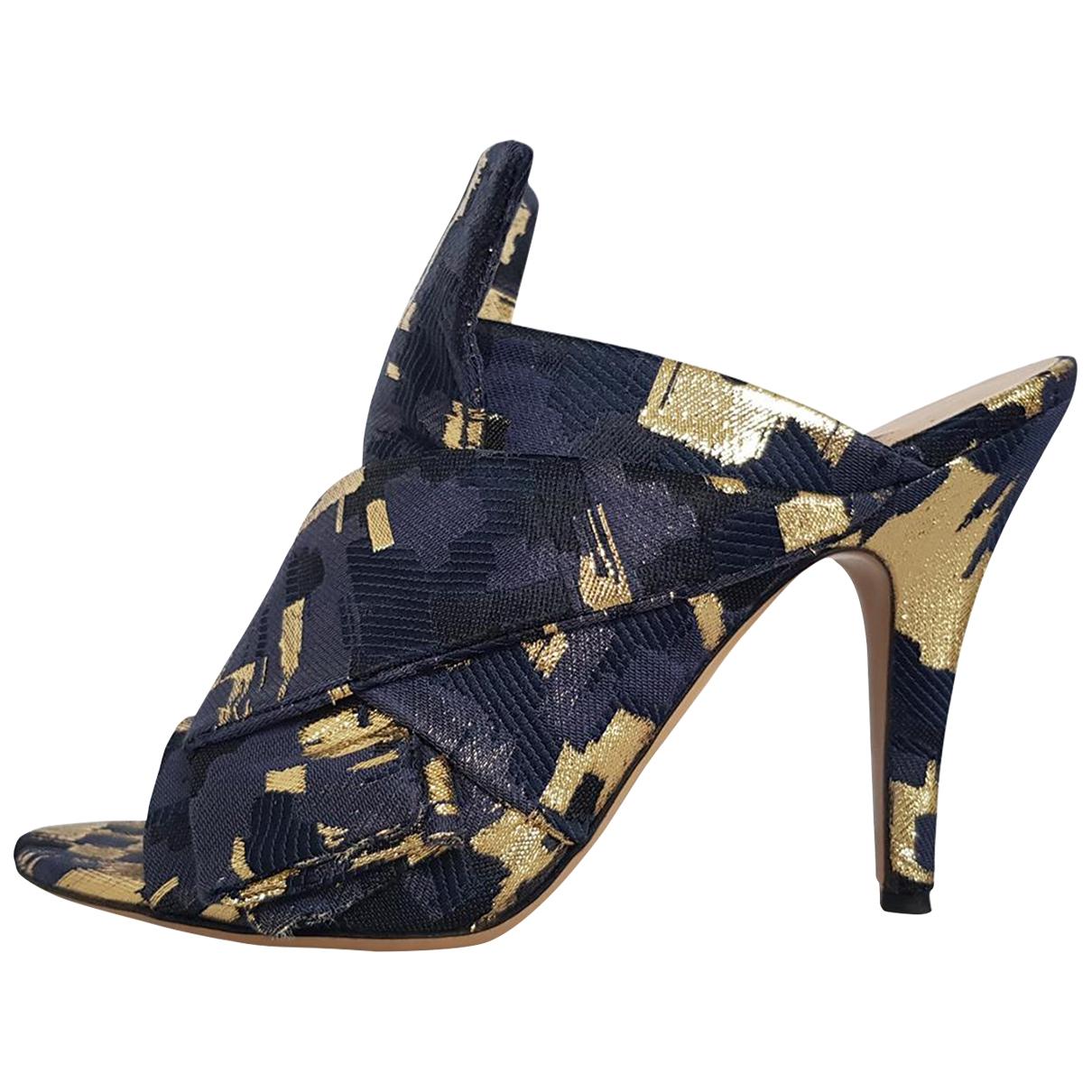 Gianluca Capannolo \N Cloth Sandals for Women 39 EU