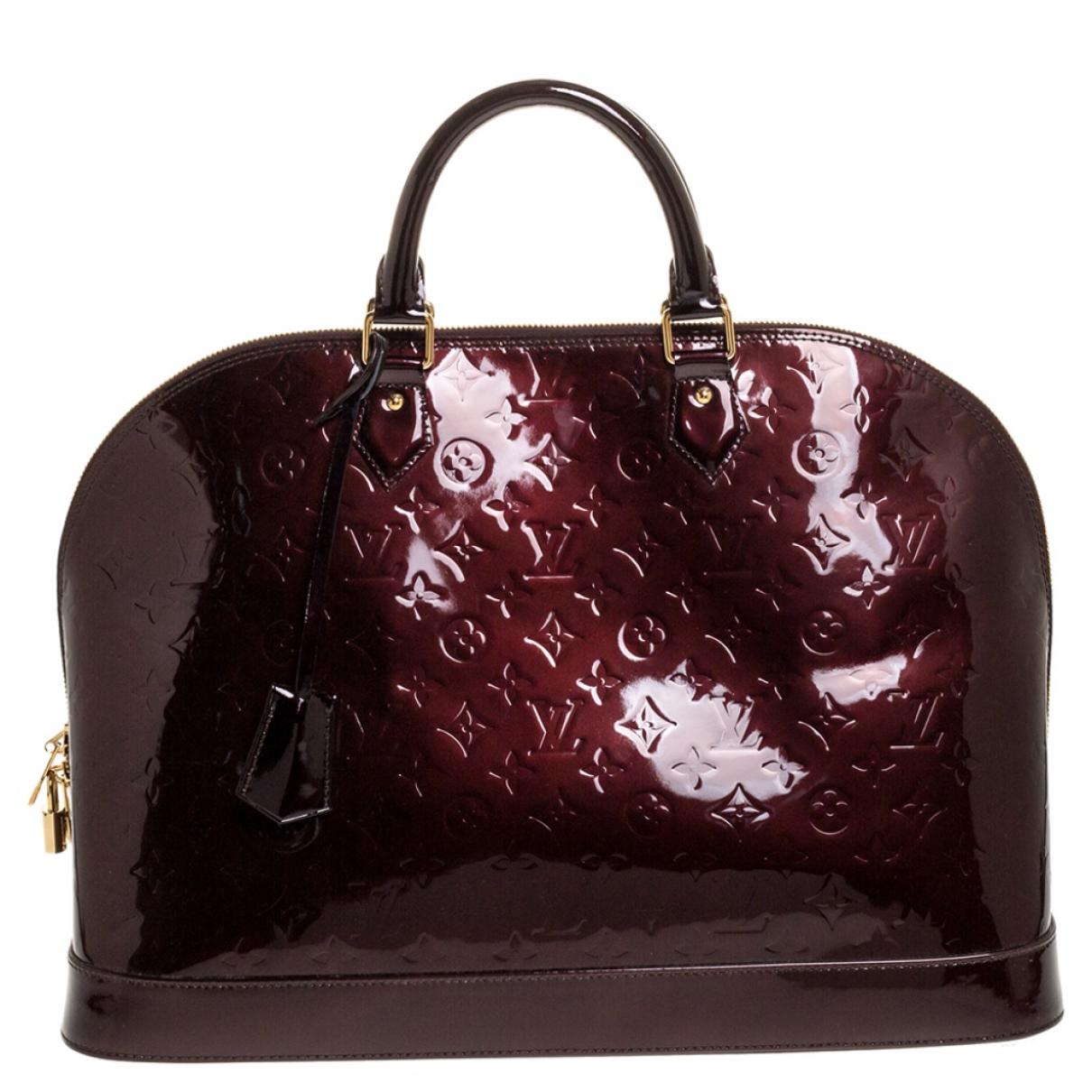 Louis Vuitton Alma Patent leather handbag for Women N