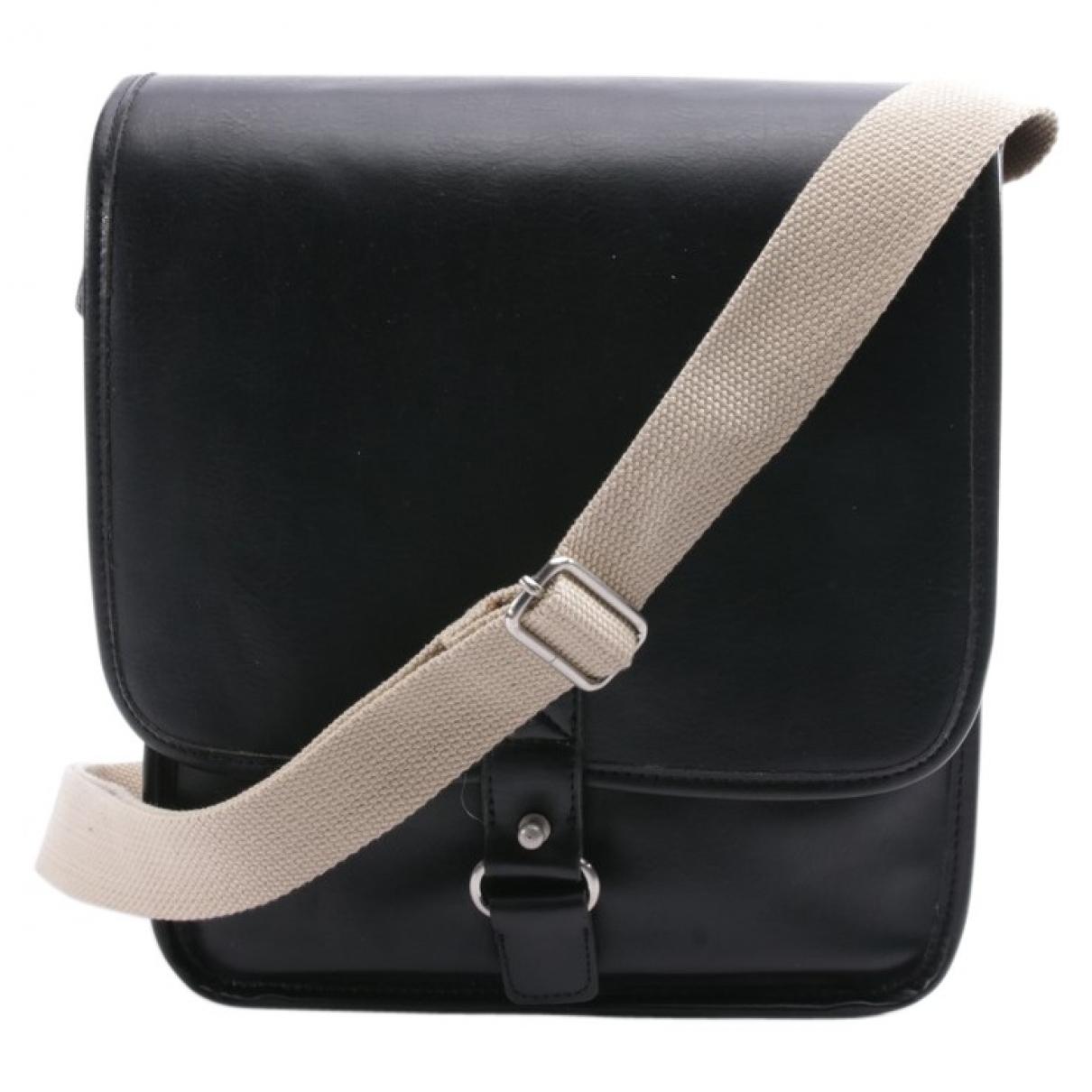 Autre Marque \N Handtasche in  Schwarz Leder