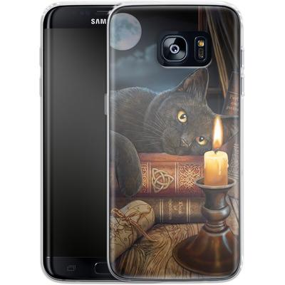 Samsung Galaxy S7 Edge Silikon Handyhuelle - Witching Hour von Lisa Parker