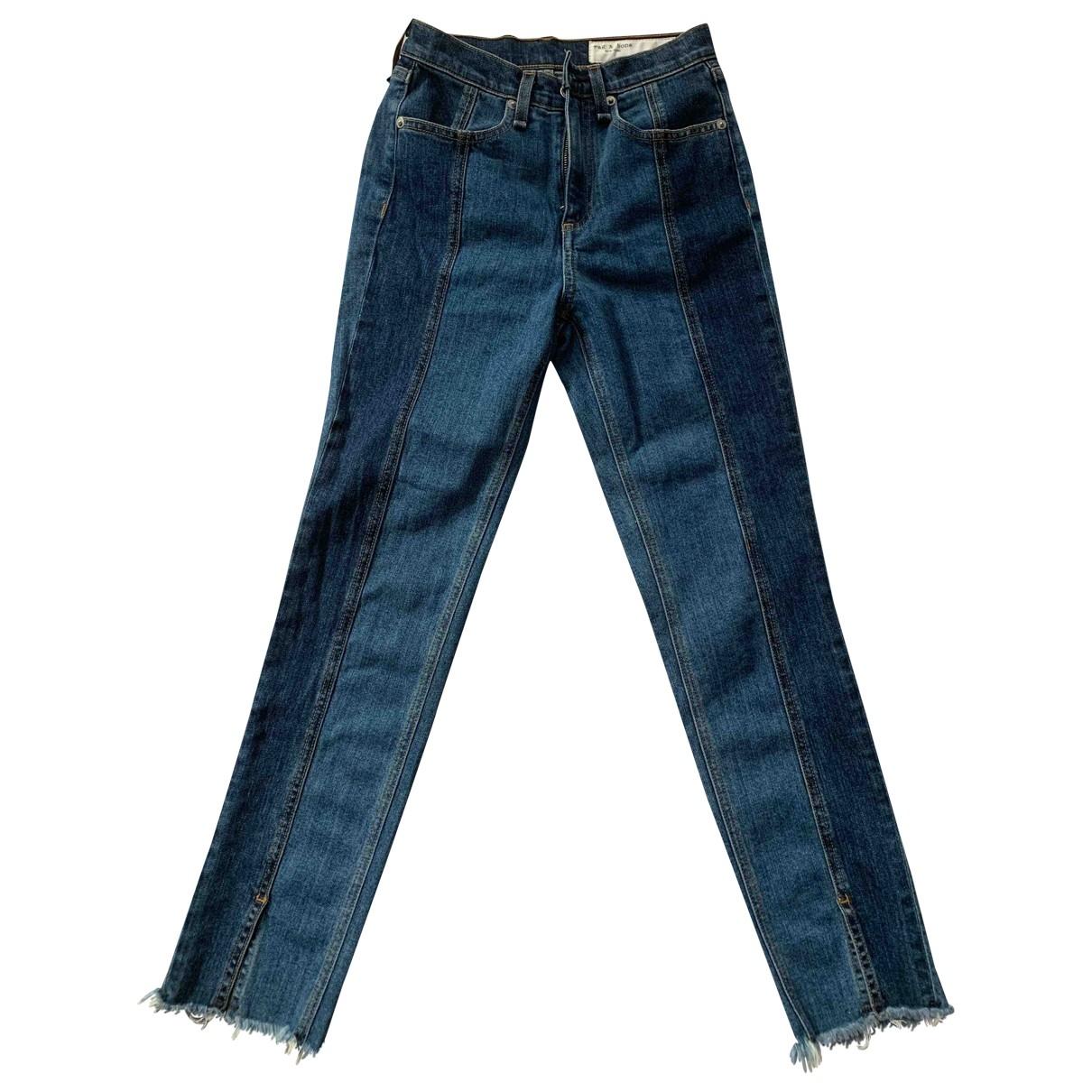 Rag & Bone \N Jeans in  Blau Denim - Jeans