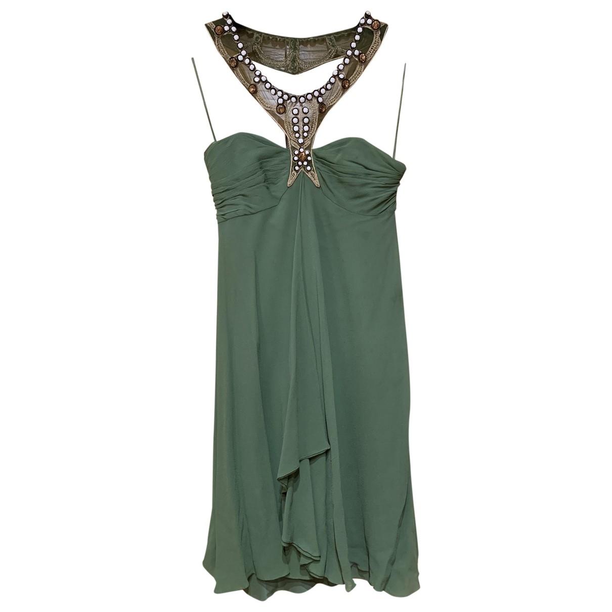 Temperley London - Robe   pour femme en soie - vert