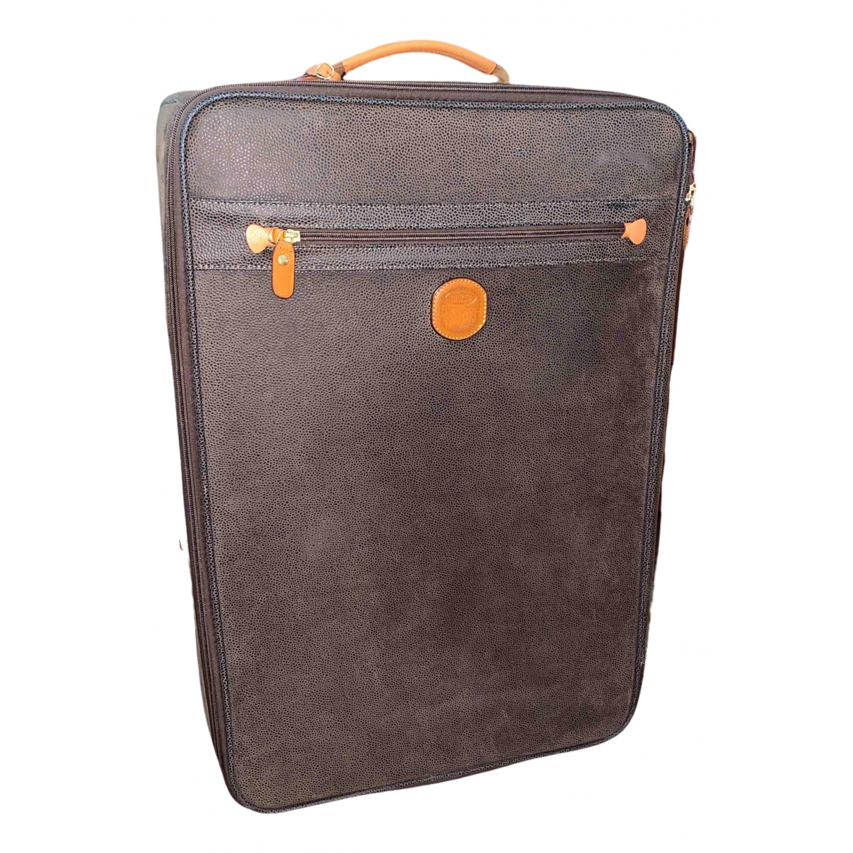 Brics - Sac de voyage   pour femme en cuir - marron