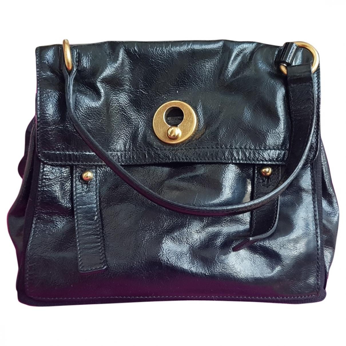 Saint Laurent Muse II Black Patent leather handbag for Women \N