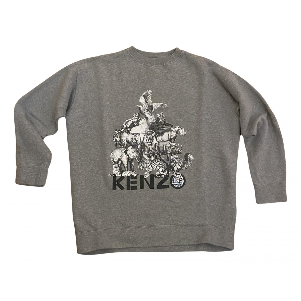 Kenzo - Pulls.Gilets.Sweats   pour homme en coton - gris