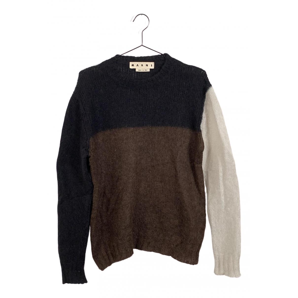 Marni \N Pullover.Westen.Sweatshirts  in  Bunt Wolle