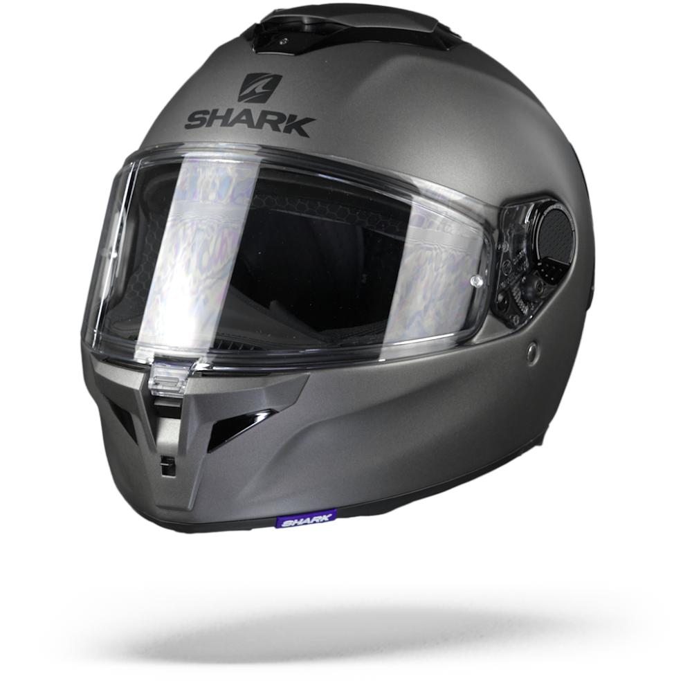 Shark Spartan GT Blank Casco Integral Antracita Mate M