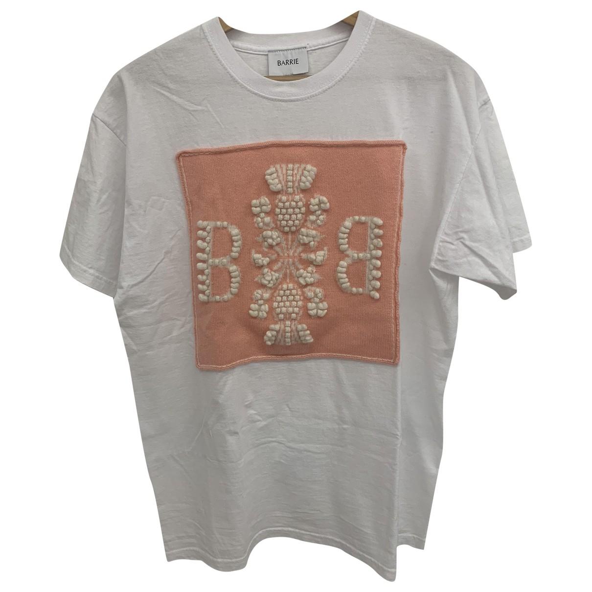 Barrie - Top   pour femme en coton - blanc