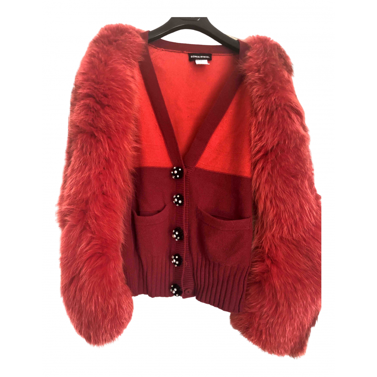 Sonia Rykiel \N Red Fox jacket for Women 42 FR