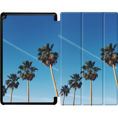 Amazon Fire HD 10 (2018) Tablet Smart Case - Palm Tree Paradise von Omid Scheybani