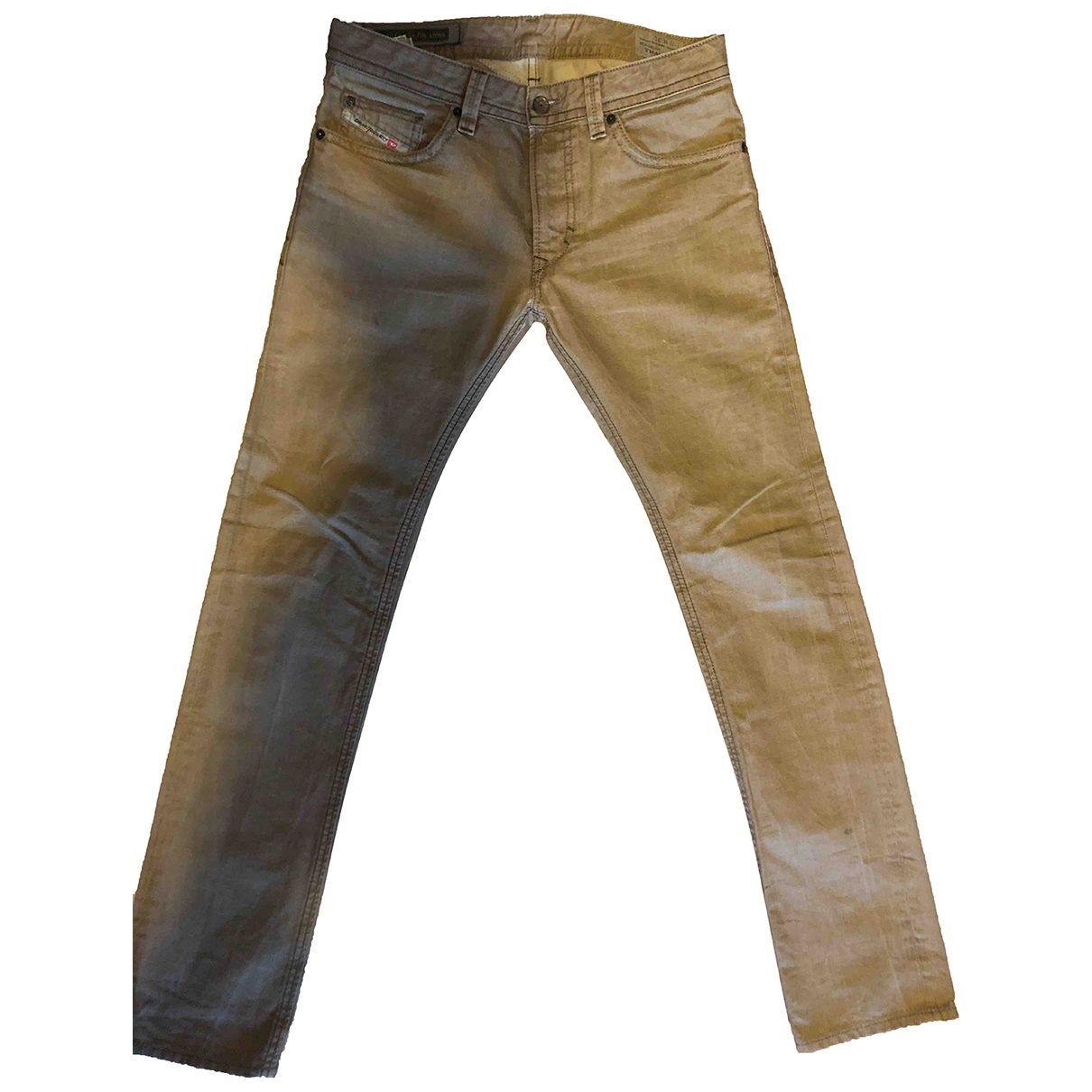 Diesel - Jean   pour homme en coton - marron