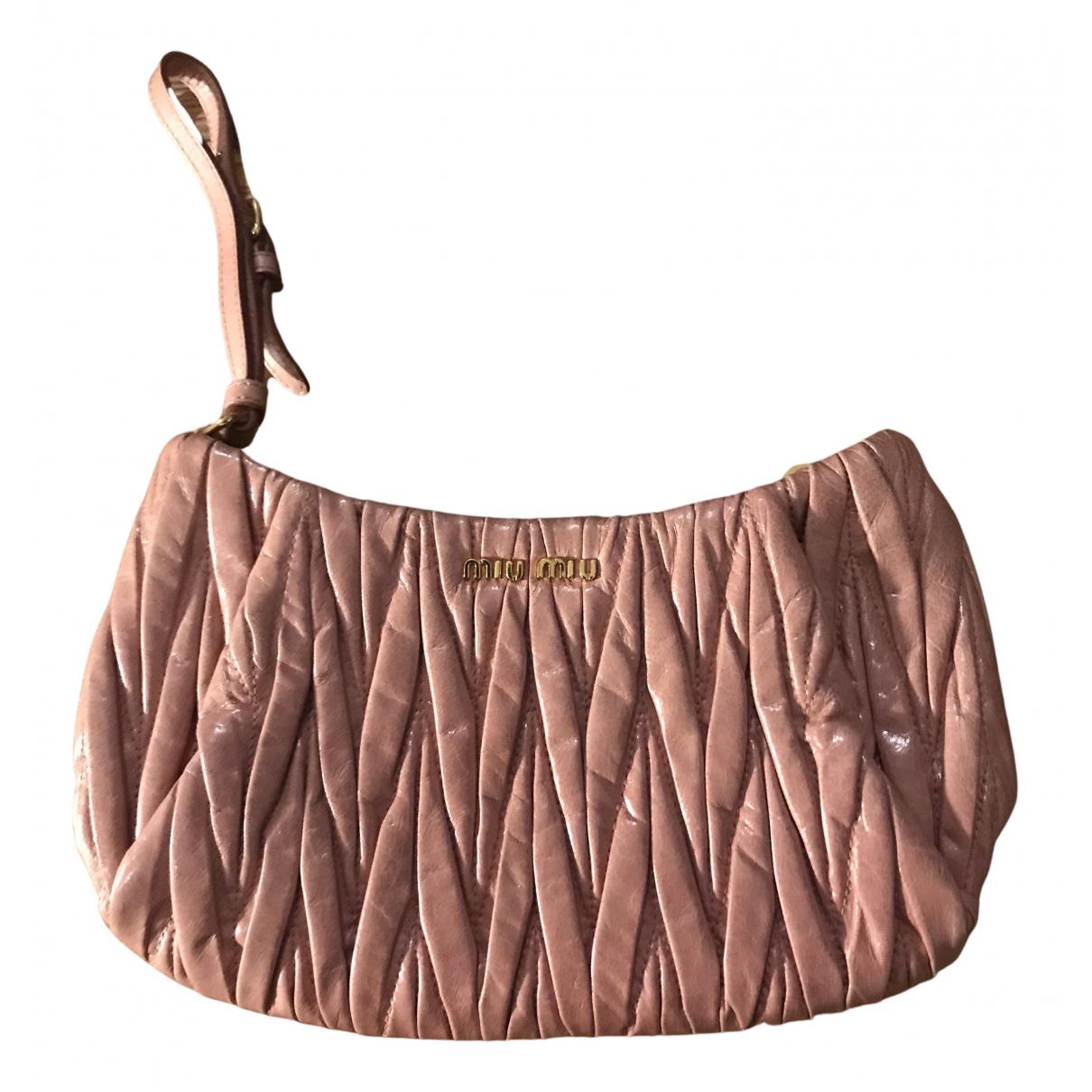 Miu Miu N Pink Leather Clutch bag for Women N