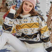 Ugly Christmas Pattern Sweater