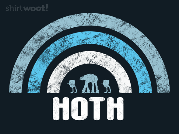 Hoth Walkers T Shirt