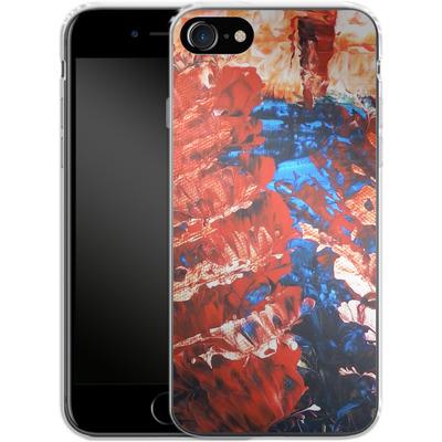 Apple iPhone 7 Silikon Handyhuelle - Macro 11 von Gela Behrmann