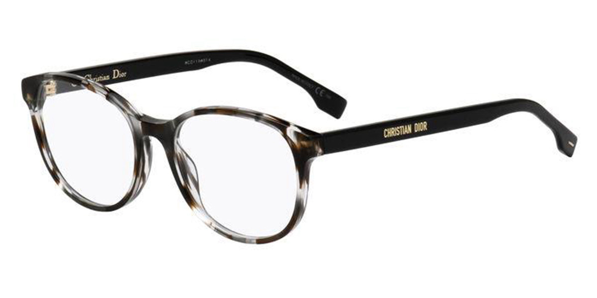 Dior DIOR ETOILE 1 ACI Men's Glasses Tortoise Size 53 - Free Lenses - HSA/FSA Insurance - Blue Light Block Available