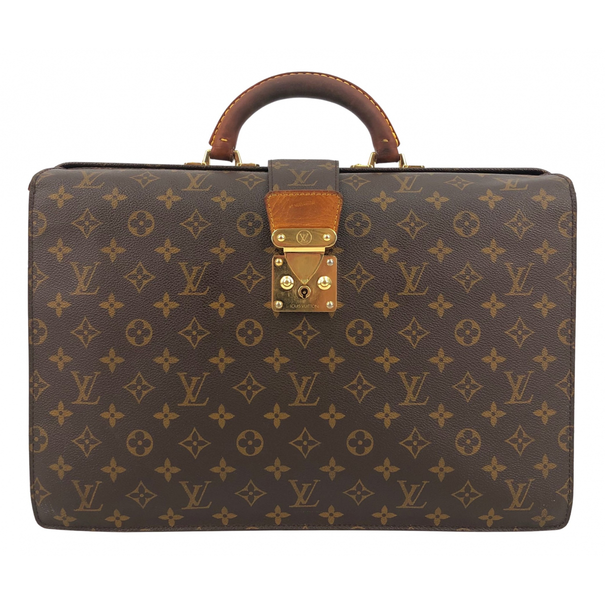 Louis Vuitton N Brown Cloth bag for Men N