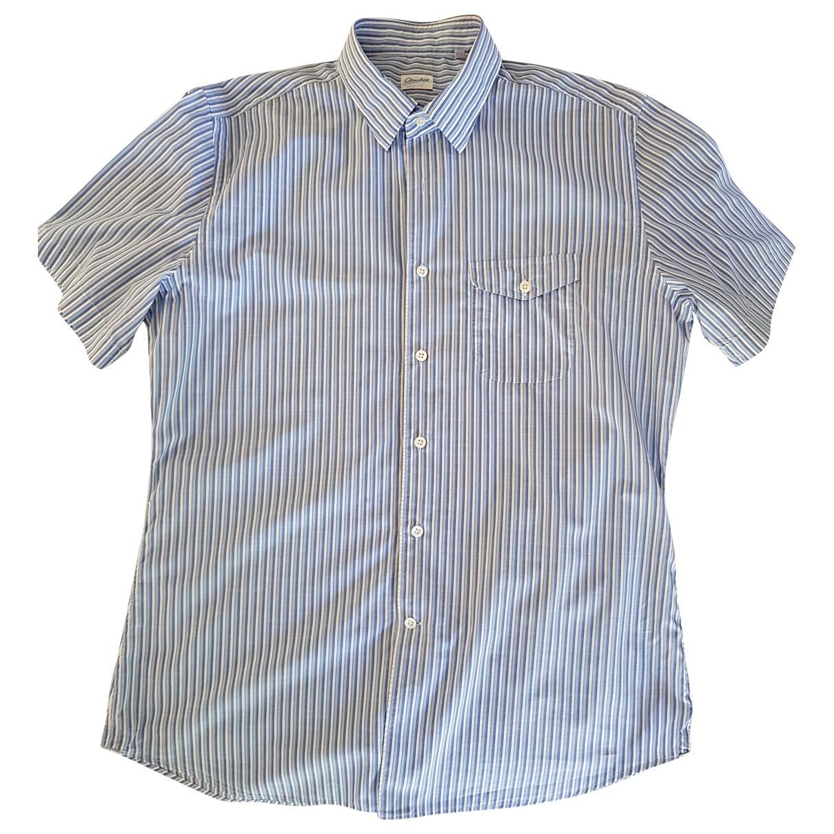 Slowear - Chemises   pour homme en coton - bleu