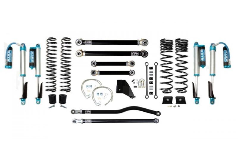 Jeep Gladiator JT 4.5 Inch Lift Kit 2020-Pres Gladiator Enforcer Lift Stage 3 Plus w/ EVO SPEC 2.5 King Shocks EVO Mfg