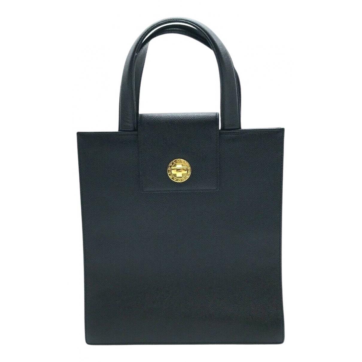 Bvlgari N Black Leather handbag for Women N