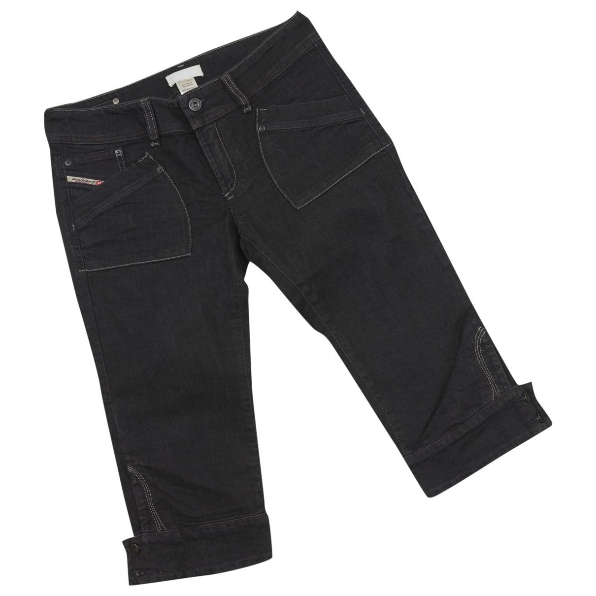 Diesel \N Shorts in  Schwarz Denim - Jeans
