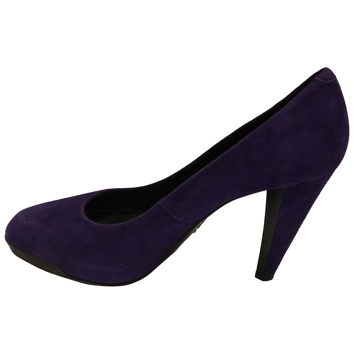Tod's \N Purple Suede Heels for Women 40.5 EU