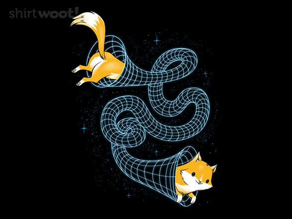 Wormhole Cat T Shirt