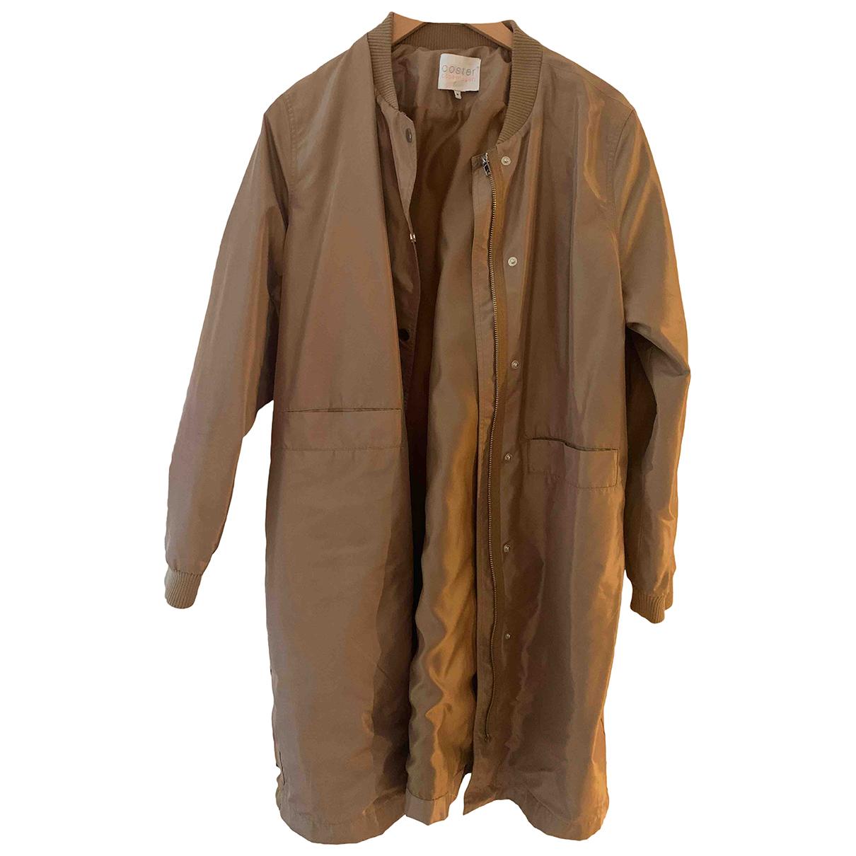 - Manteau   pour femme - dore