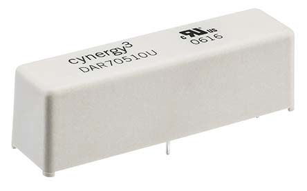 Cynergy3 SPST NO Reed Relay 12V Coil, UL Approved
