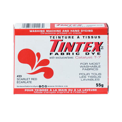Fabric Dye Cloth Dye Tintex Brand For Most Washable Fabrics Scarlet Red 55g 1Pc