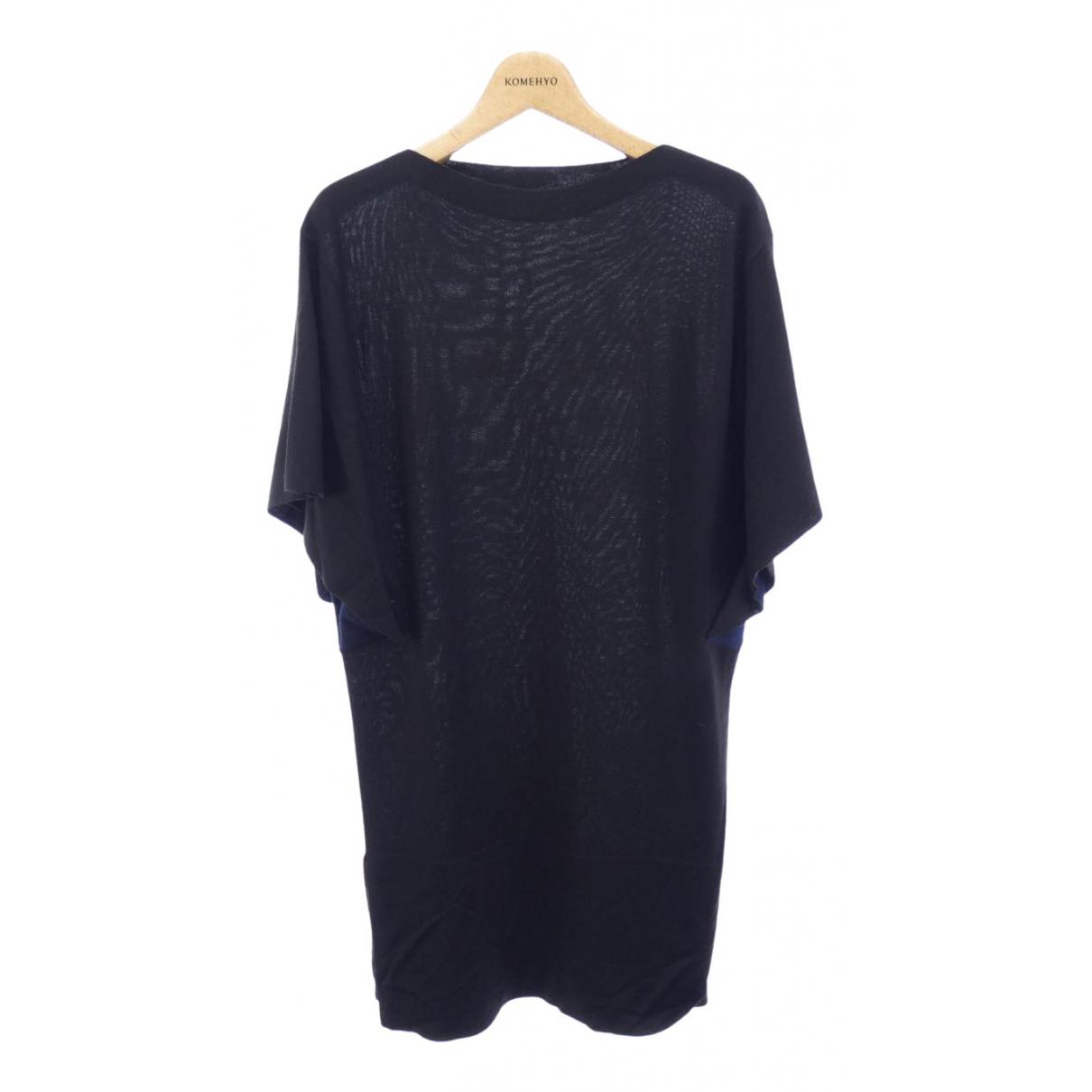 Balenciaga - Robe   pour femme en coton - noir