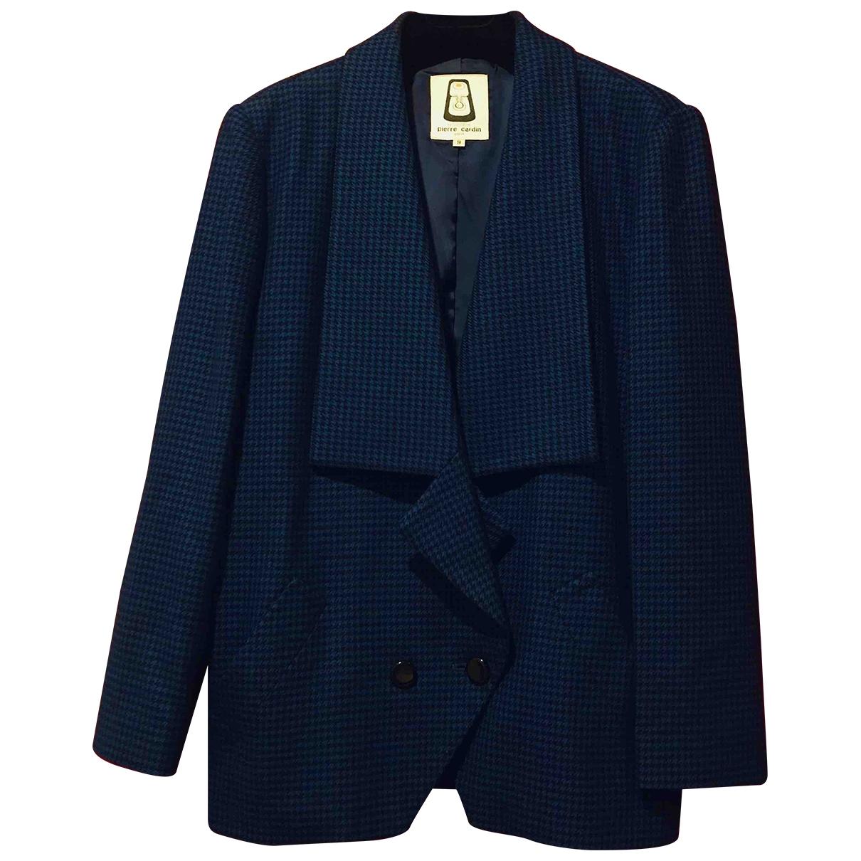 Pierre Cardin \N Blue Wool jacket for Women M International