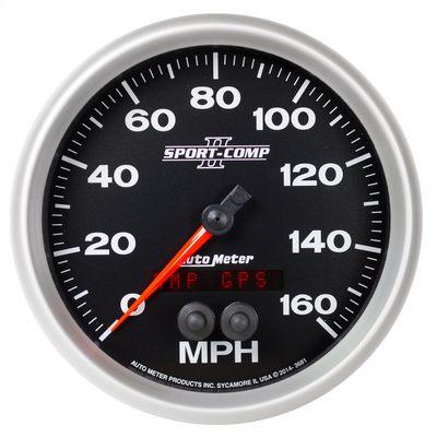 Auto Meter Sport-Comp II GPS Speedometer - 3681