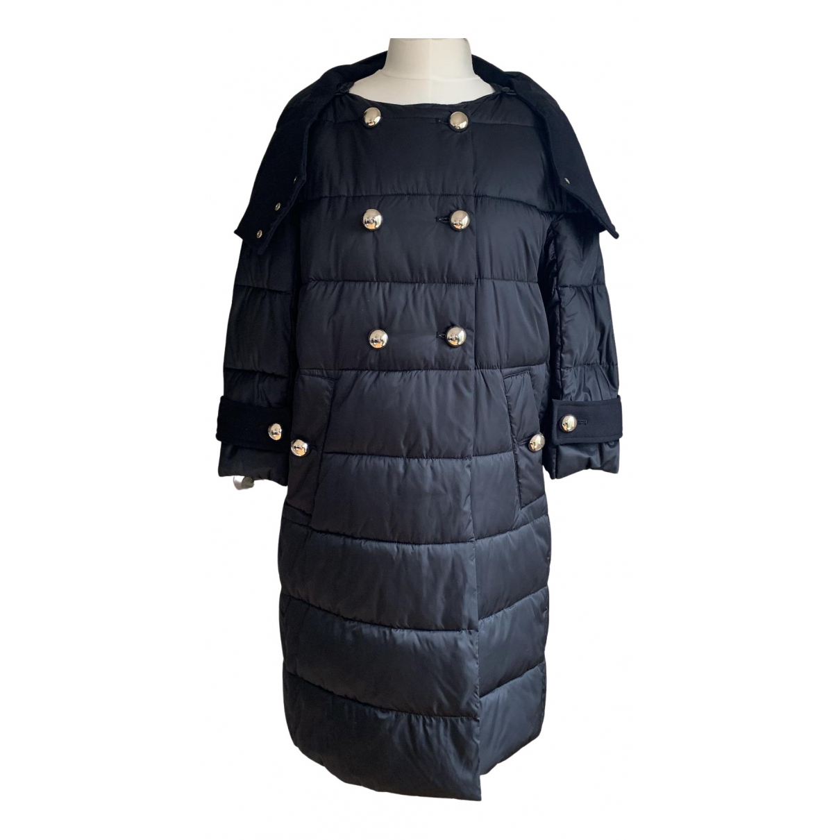 Pinko N Black coat for Women 8 UK