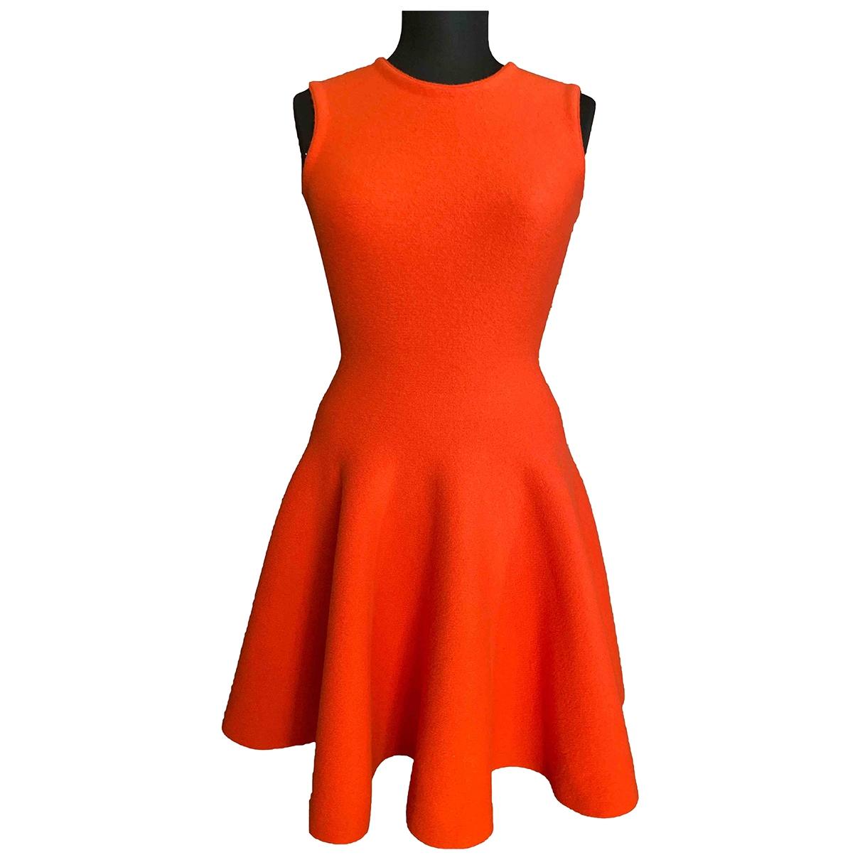 Mrz - Robe   pour femme en laine - rouge