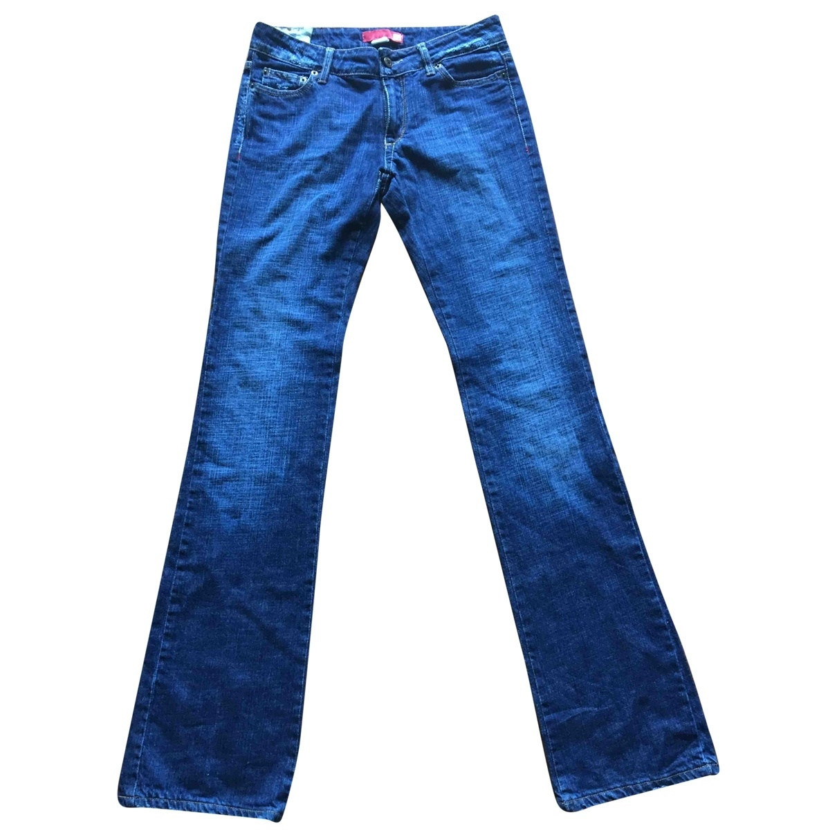 Liu.jo \N Blue Cotton Jeans for Women 28 US