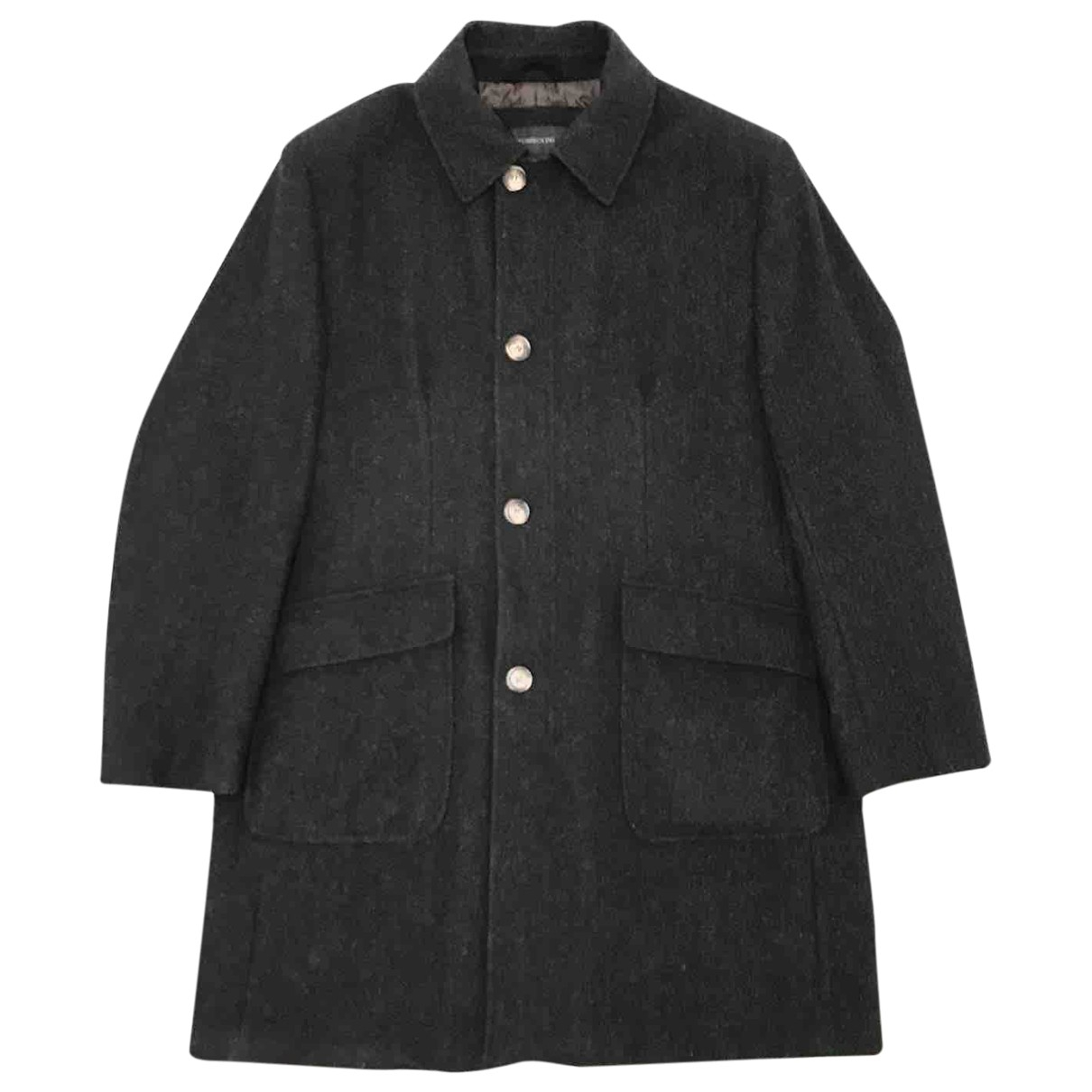 Tombolini - Manteau   pour homme en laine - anthracite