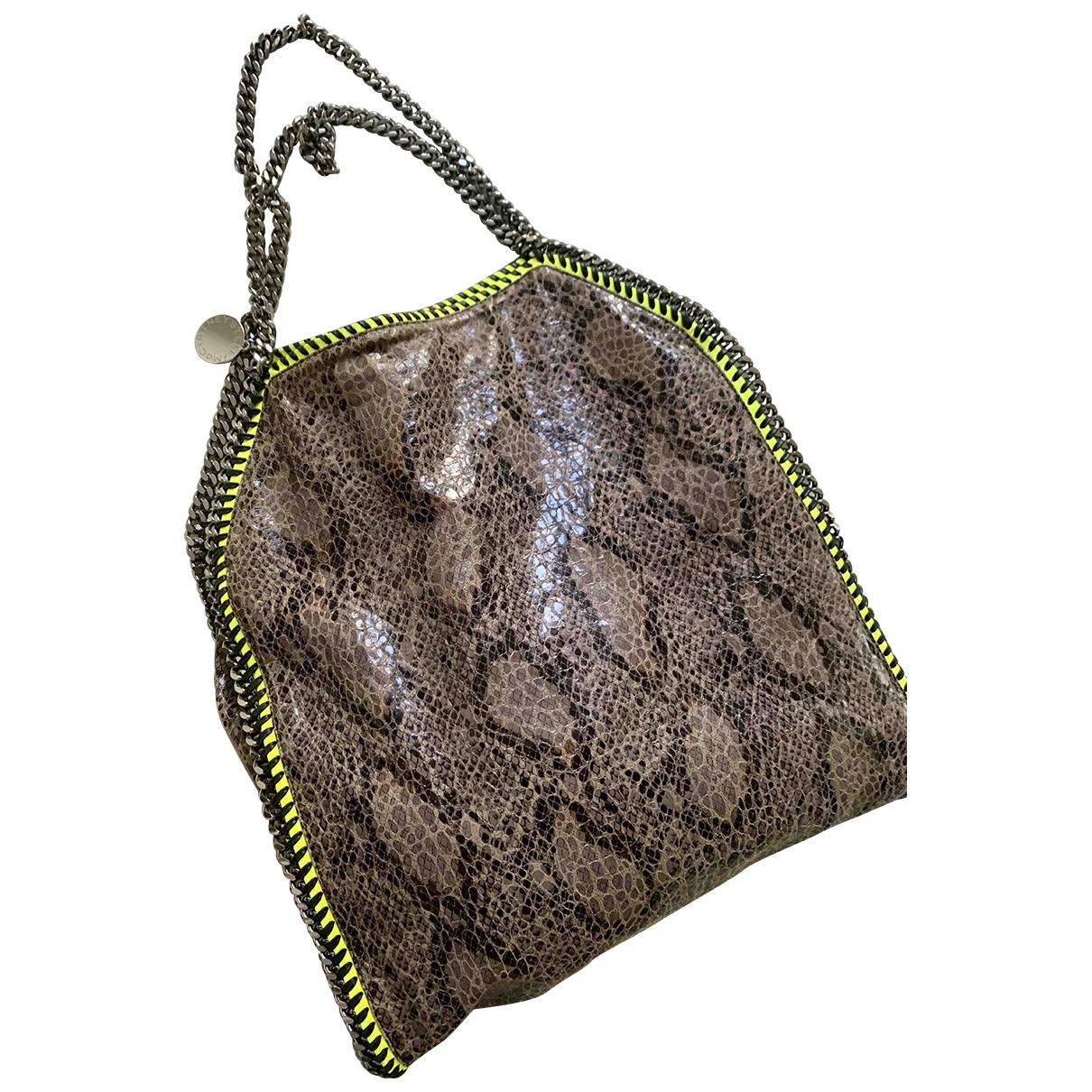 Stella Mccartney Falabella Handtasche in Leinen
