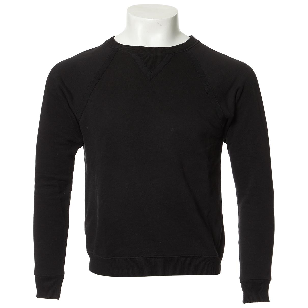 Saint Laurent - Pulls.Gilets.Sweats   pour homme en coton - noir