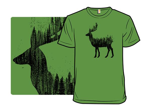 Nature Deer T Shirt