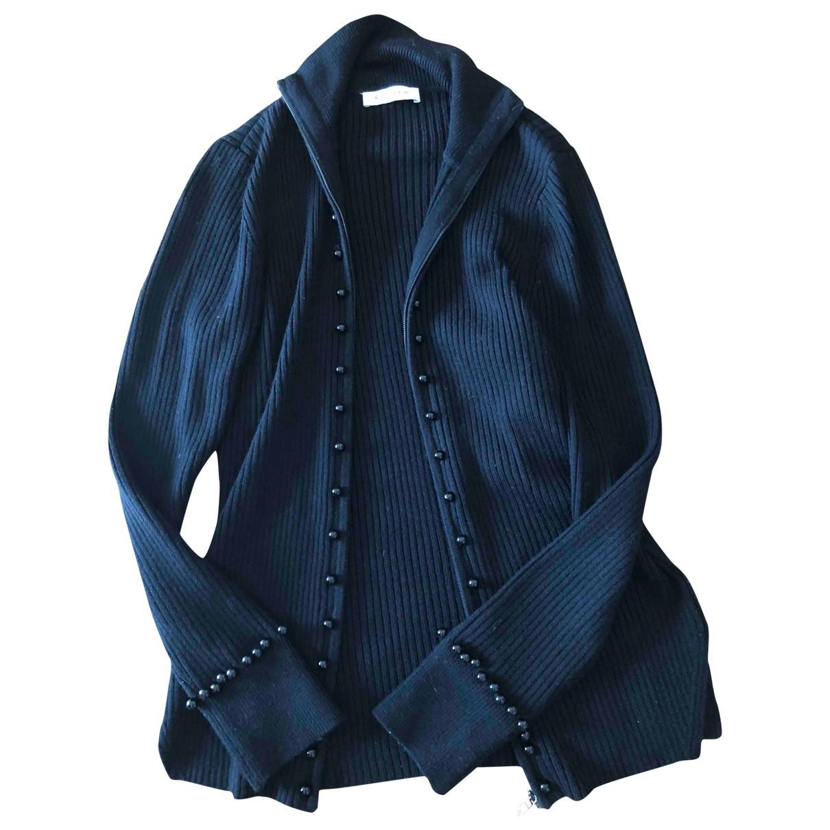 Sandro \N Black Wool Knitwear for Women 2 0-5
